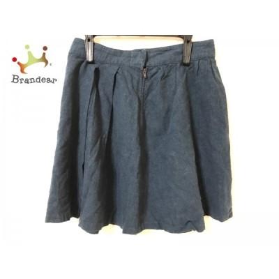アングリッド UNGRID ミニスカート サイズM レディース 美品 ブルー               スペシャル特価 20191030