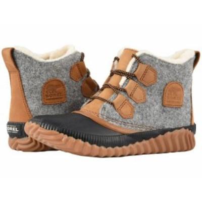 SOREL ソレル レディース 女性用 シューズ 靴 ブーツ レインブーツ Out N About(TM) Plus Quarry Leather/Felt Textile【送料無料】