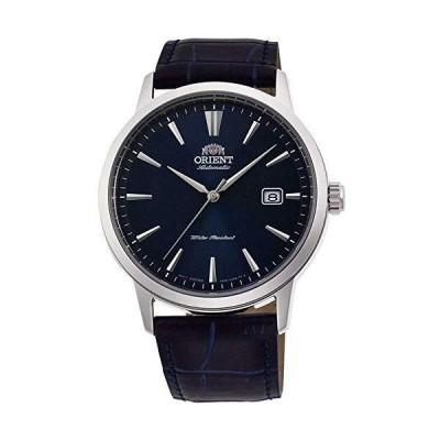 Orient RA-AC0F06L10A Men's Symphony III Blue Leather Band Blue Dial Automatic Watch並行輸入品