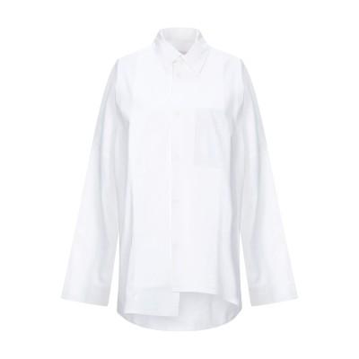 BARBARA ALAN シャツ ホワイト S コットン 100% シャツ