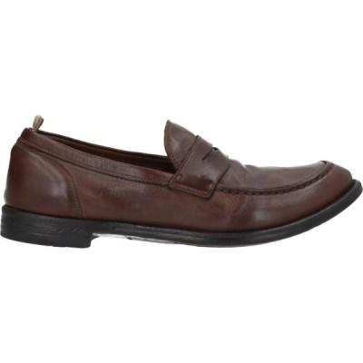 オフィチーネ クリエイティブ OFFICINE CREATIVE ITALIA メンズ ローファー シューズ・靴 loafers Brown