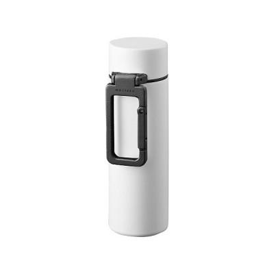 (BACKYARD/バックヤード)MOTTERU モッテル カラビナハンドルサーモボトル 130ml/ユニセックス ホワイト