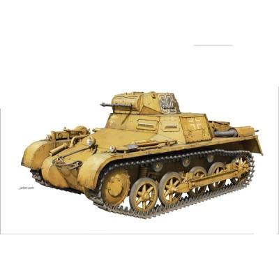 タコム 1/16 I号戦車 A型 スケールプラモデル TKO1008
