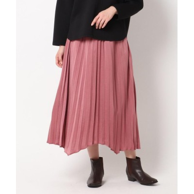 THE SHOP TK(Women)(ザ ショップ ティーケー(ウィメン)) アコーディオンプリーツ イレギュラーヘムスカート