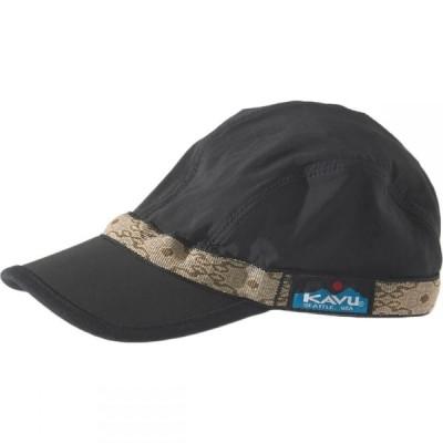 カブー KAVU レディース キャップ 帽子 Synthetic Strapcap Black