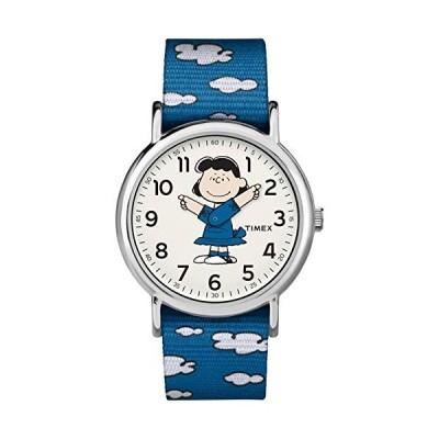 腕時計 タイメックス レディース TW2R41300 Timex Unisex TW2R41300 Weekender 38mm Peanuts Lucy Nylo