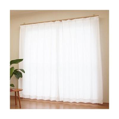[カーテンくれない] レースカーテンで驚異の紫外線カット率94% ウルトラレースカーテン 保冷 遮熱効果 日本製