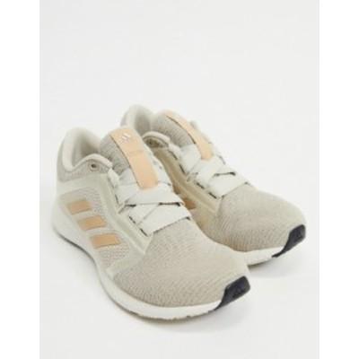 アディダス レディース スニーカー シューズ adidas Running Edge Lux 4 sneakers in beige Beige