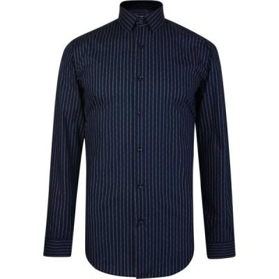 ヒューゴ ボス Boss メンズ シャツ トップス Isko Long Sleeve Shirt Blue