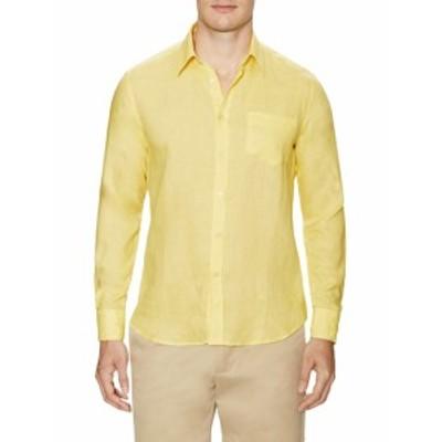 ヴィルブレクイン メンズ カジュアル ボタンダウンシャツ Classic linen Sportshirt