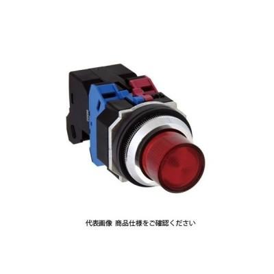 IDEC(アイデック) φ30 TWNDシリーズ 亜鉛ダイカスト製 照光押ボタンスイッチ 突形 赤 ALD21602DNR(直送品)