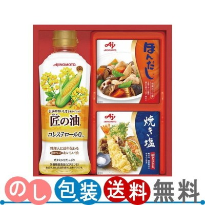 味の素 バラエティ調味料ギフト A-10N  送料無料・ギフト包装無料・のし紙無料 (B5)