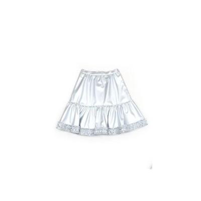 petit フェイクレザースカート (シルバー)