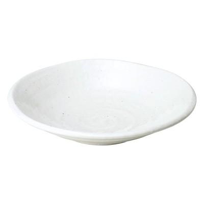 ゆらり粉引き 8寸深皿 ミ488-077