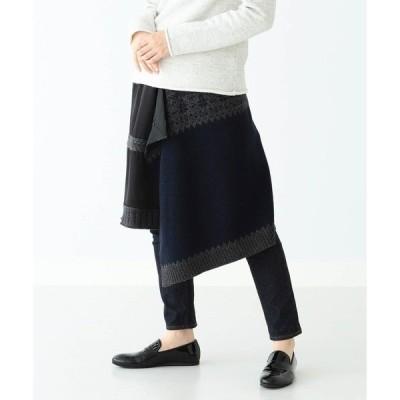 スカート A × BEAMS BOY / 別注 ノルディック スカート