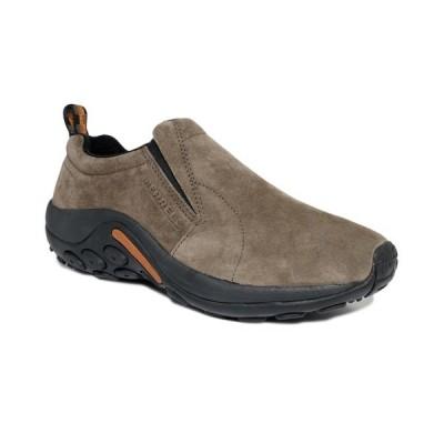 メレル スリッポン・ローファー シューズ メンズ Jungle Suede Moc Slip-On Shoes Grey