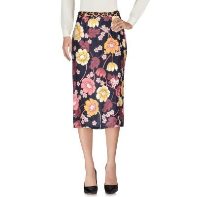ジャッカ JUCCA 7分丈スカート ダークブルー 40 レーヨン 100% 7分丈スカート