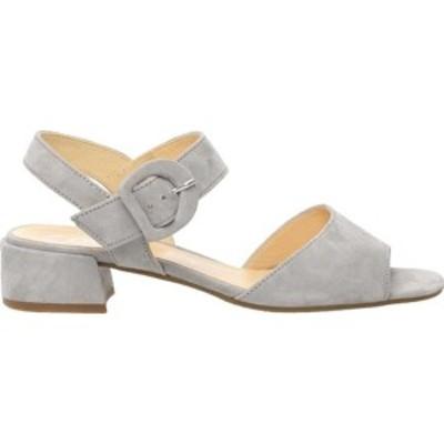 ガボール レディース サンダル シューズ 81-742 Ankle Strap Sandal Grey Suede
