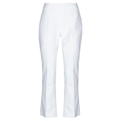 CLIPS MORE パンツ ホワイト 44 コットン 98% / ポリウレタン 2% パンツ