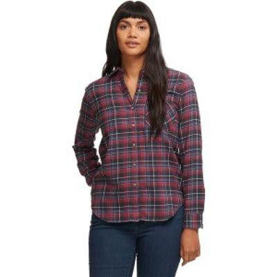 マーモット レディース Tシャツ トップス Maggie Midweight Flannel Long-Sleeve Shirt Dark Steel