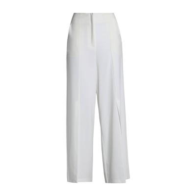 IRIS & INK パンツ ホワイト 4 ポリエステル 90% / ポリウレタン 10% パンツ