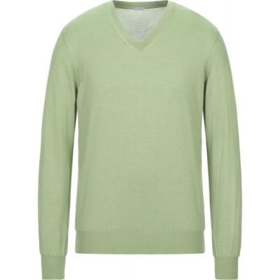 マーロ MALO メンズ ニット・セーター トップス cashmere blend Green