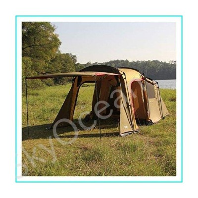 Tents Camping Tent 8 Person Family Tents,Big,Easy Up, Large Mesh Door, Double Layer,Waterproof, Weather Resistant Outdoor Tent (Color : Gree