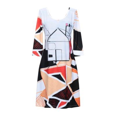 SAVE THE QUEEN ミニワンピース&ドレス ライトグレー S ポリエステル 85% / ポリウレタン 15% ミニワンピース&ドレス