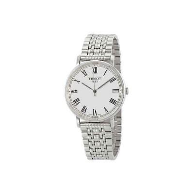 腕時計 ティソット メンズ Tissot Everytime Silver Dial Men's Watch T1094101103310