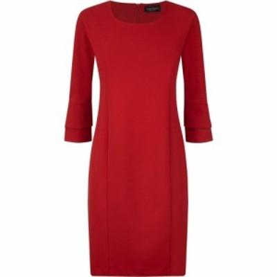 ジュームズ レイクランド James Lakeland レディース パーティードレス ワンピース・ドレス Ruffle Sleeve Det Dress Red