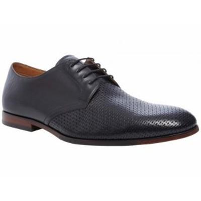 Steve Madden スティーブマデン メンズ 男性用 シューズ 靴 オックスフォード 紳士靴 通勤靴 Elixer Oxford Black Leather【送料無料】
