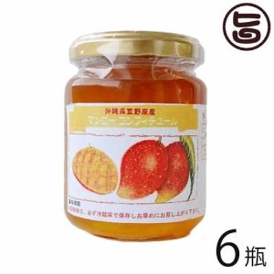 ぎのざジャム工房 手作りコンフィチュール マンゴー 140g×6瓶 沖縄 土産 マンゴーの優雅な甘みと香りがたまらなく美味しい 送料無料