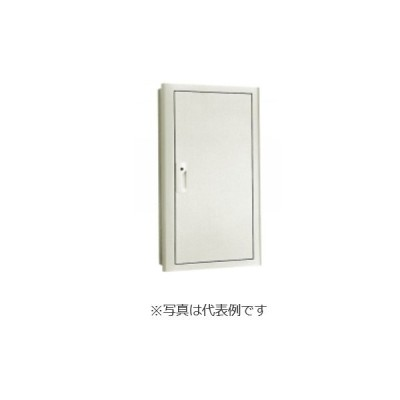 河村電器産業 HXKTU67-10 タテ型ホーム盤用キャビネット 鉄板製/屋内用 埋込形/木製基板