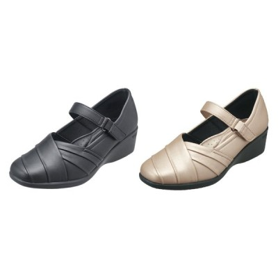 パンジー 靴 シューズ 母の日 婦人用 カジュアルシューズ Pansy レディース ストラップ付・高めの4.5cmヒール 4420