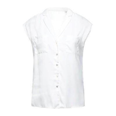 NAF NAF シャツ ホワイト 34 ポリエステル 100% シャツ