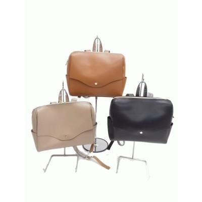 横型リュック 鞄 バッグ 結婚式 旅行 春 夏 卒業式 入学式 レディース 黒 シンプル テレワーク 軽い 軽量 40代 50代