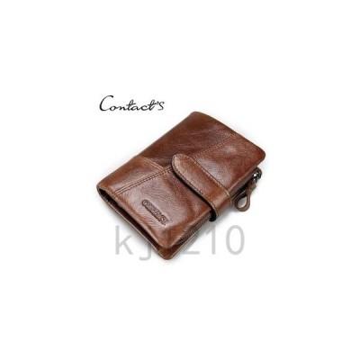 財布メンズウォレットさいふお札入れファスナーレザー小銭入れカード入れコンパクト無地カジュアルギフトプレゼント