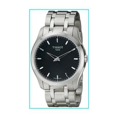 Tissot Men's T0354461105100 Couturier Analog Display Swiss Quartz Silver Watch【並行輸入品】