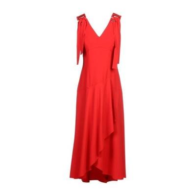 ALBERTA FERRETTI イブニングドレス ファッション  レディースファッション  ドレス、ブライダル  パーティドレス レッド