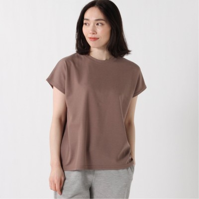【吸汗速乾】ドライ裏面メッシュフレンチスリーブTシャツ(クローズトラック/CLOTHES TRUCK)