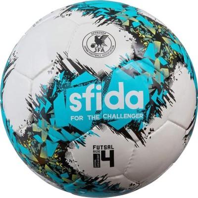 INFINITO APERTO 4 ホワイト×ターコイズ 【SFIDA スフィーダ】フットサルボール4号球sb-21ia02-whttuq
