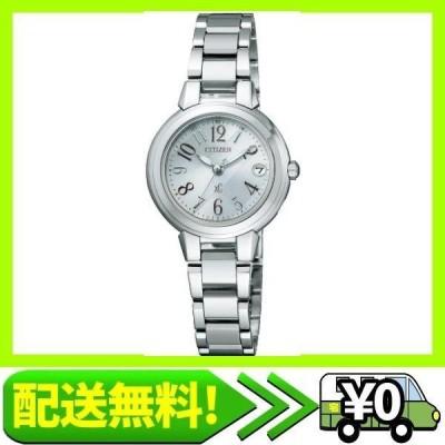 [シチズン]CITIZEN 腕時計 xC クロスシー エコ・ドライブ 電波時計 ミニソル ES8030-58A レディース