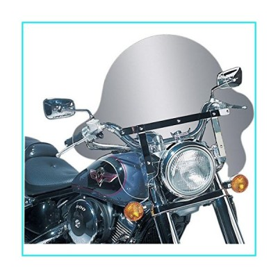 Slipstreamer SS-32-16CTQ SS-32 16in. Falcon Windshield with Chrome Hardware - 16in.H x 30.5in.W - Clear【並行輸入品】