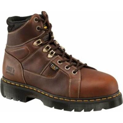 ドクターマーチン メンズ ブーツ・レインブーツ シューズ Dr. Martens Work Ironbridge Tec-Tuff Safety Toe 8 Tie Boot Teak Industrial