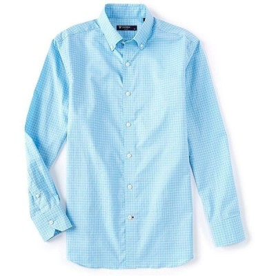 ダニエル クレミュ メンズ シャツ トップス Dobby Check Long-Sleeve Woven Shirt