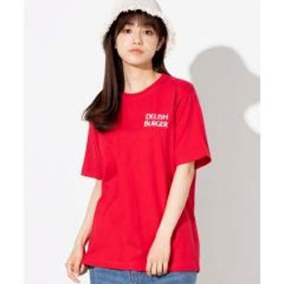 WEGO(ウィゴー)WEGO/DELISHBURGERTシャツ