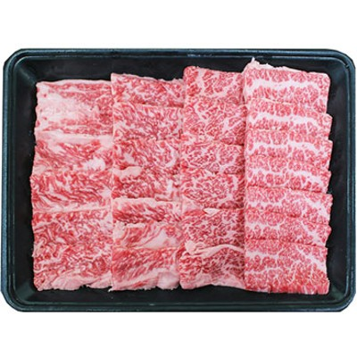 □【鹿児島県産】A5 黒毛和牛 霜降り焼肉用 400g