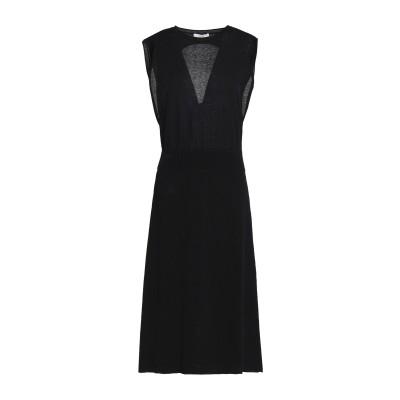 HOUSE OF DAGMAR 7分丈ワンピース・ドレス ブラック L コットン 88% / ナイロン 12% 7分丈ワンピース・ドレス