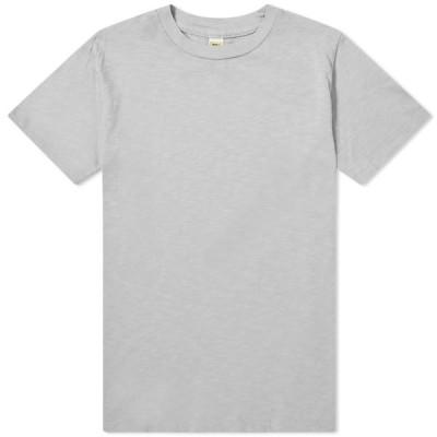 ベルバシーン Velva Sheen メンズ Tシャツ トップス Regular Tee Grey