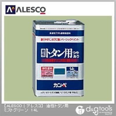 カンペハピオ 油性トタン用 14L ミストグリーン